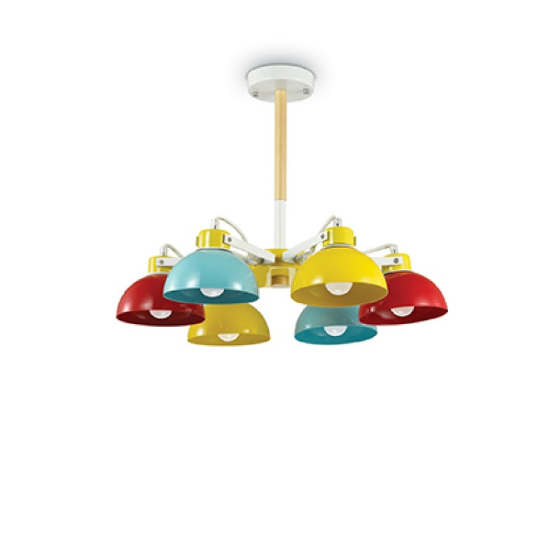 Pendant lamp TITTI PL6 Multicolore