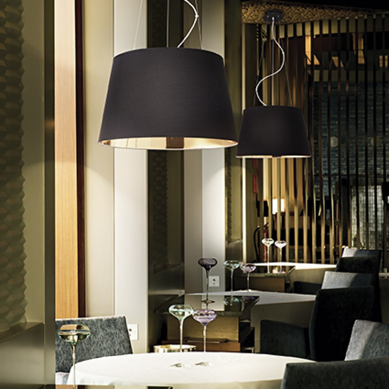 Pendant lamp NORDIK SP4 Black