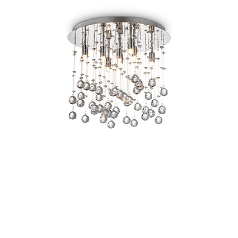 Ceiling lamp MOONLIGHT PL8 Chromo
