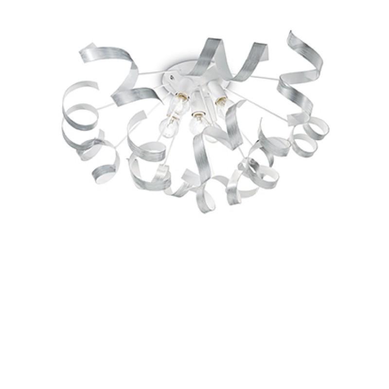 Ceiling lamp VORTEX PL5 Silver