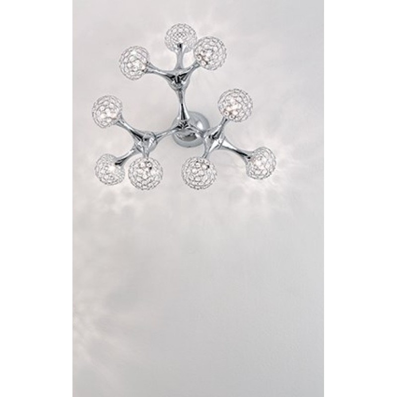 Ceiling lamp NODI CRYSTAL PL9 Chrome
