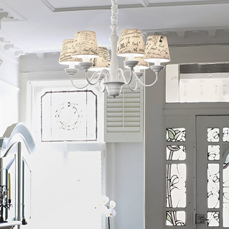 Chandelier COFFEE SP6 White