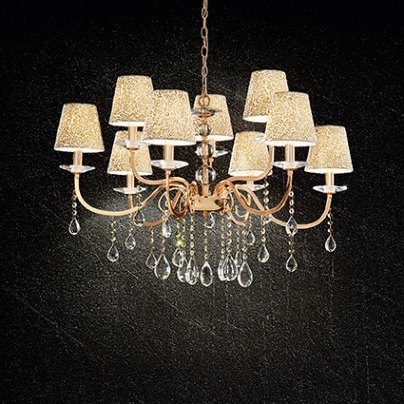 Chandelier PANTHEON SP6 Gold