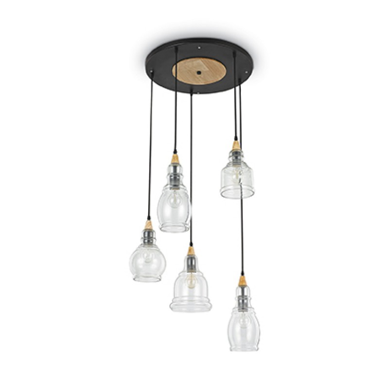 Ceiling lamp GRETEL SP5 Black