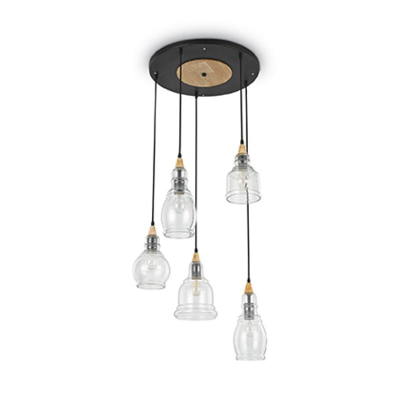 Ceiling lamp GRETEL SP5 Black