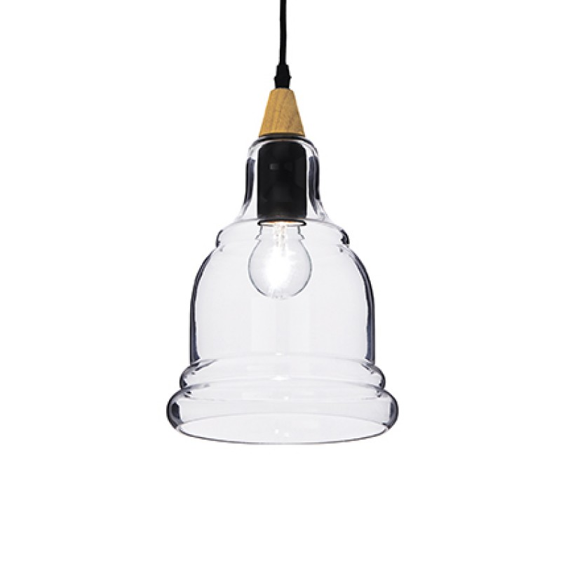 Pendant lamp GRETEL SP1 Black