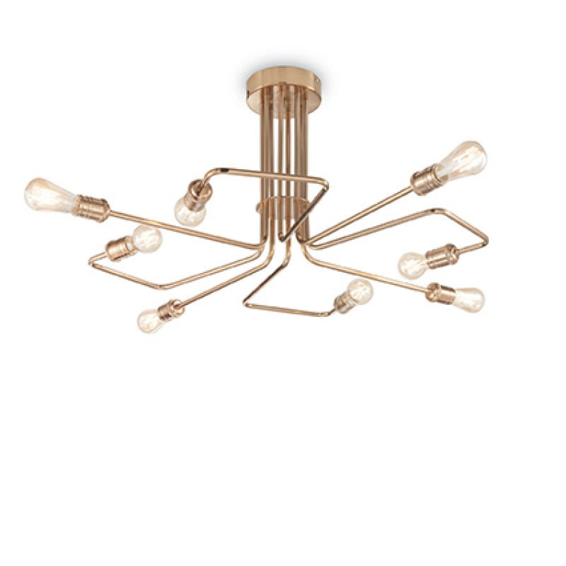 Ceiling lamp TRIUMPH PL8 Brass