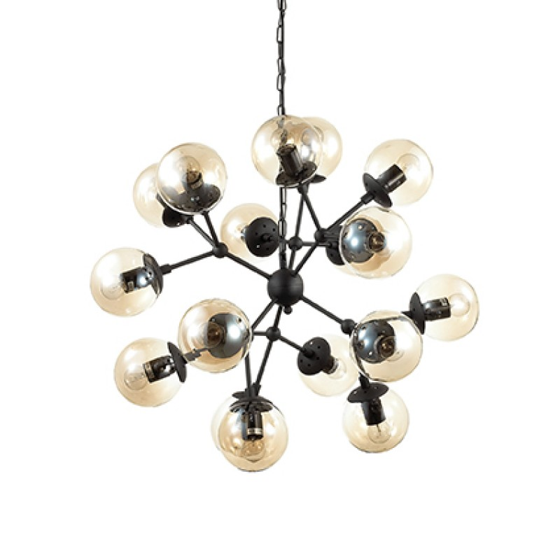 Pendant lamp KEPLER SP12 Black