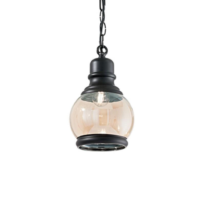 Pendant lamp HANSEL SP1 Round Black