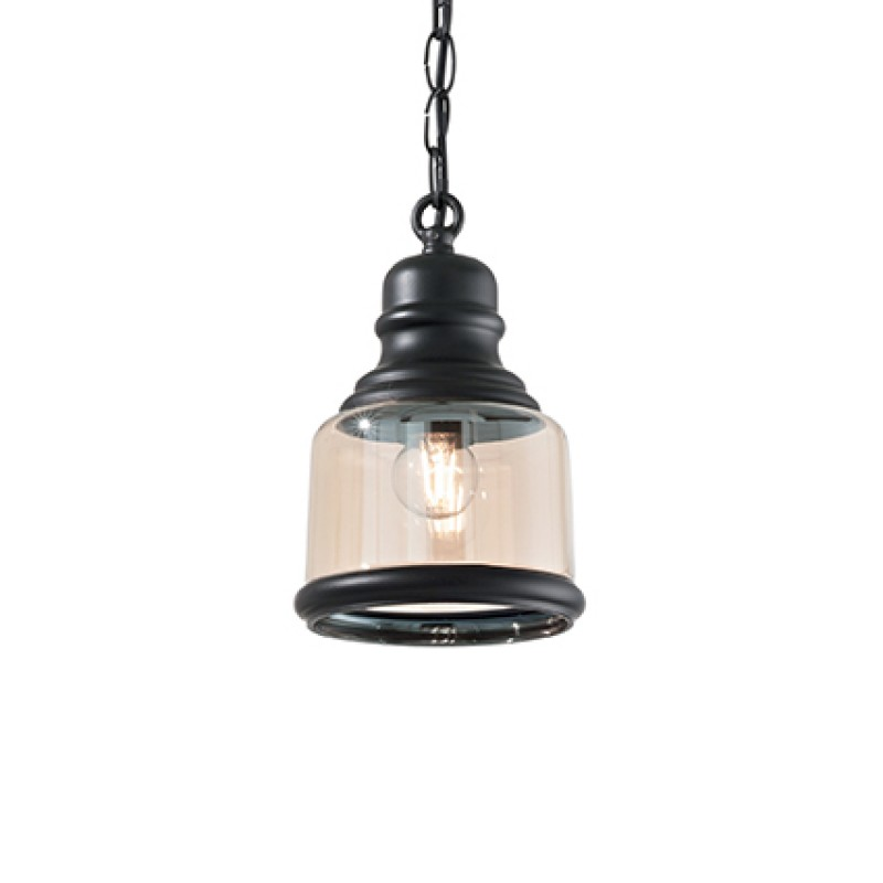 Pendant lamp HANSEL SP1 Square Black