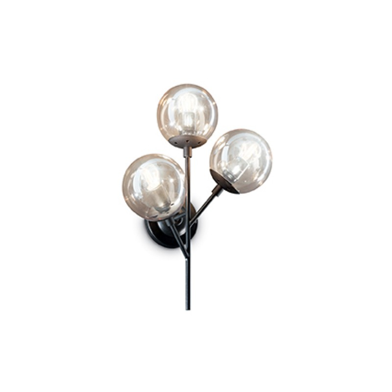 Wall lamp KEPLER AP3 Black