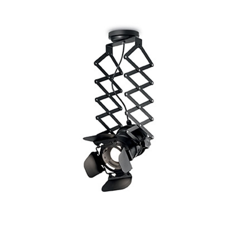 Ceiling lamp MOVIE PL1 Black