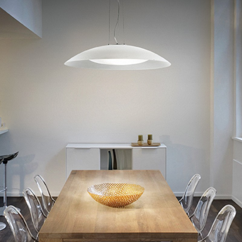 Pendant lamp LENA SP3 D64 White