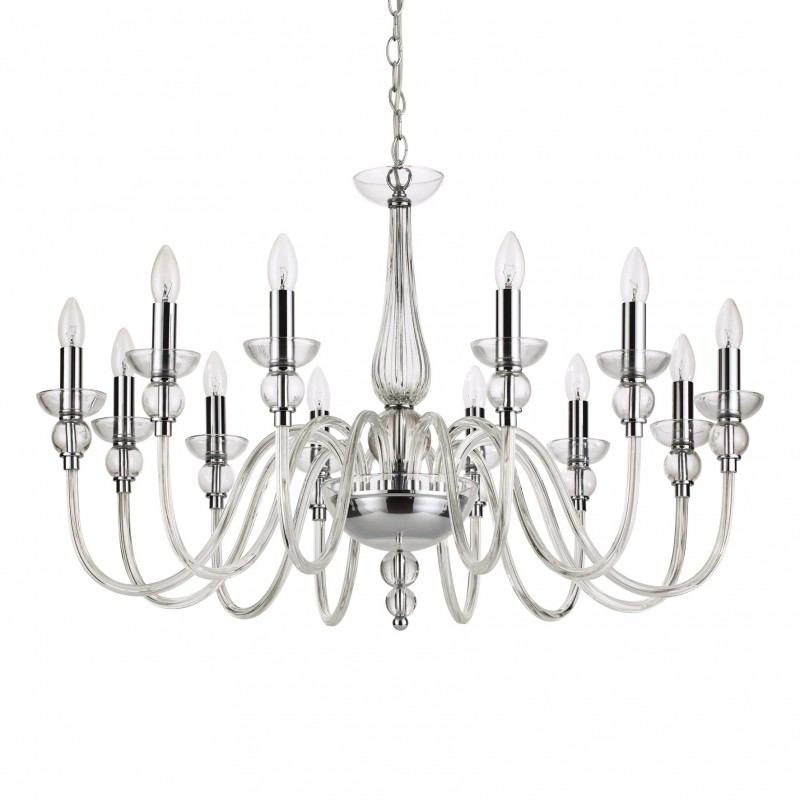 Chandelier DOGE SP12 Transparent