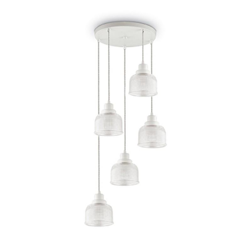 Pendant lamp RUBY SP5 White