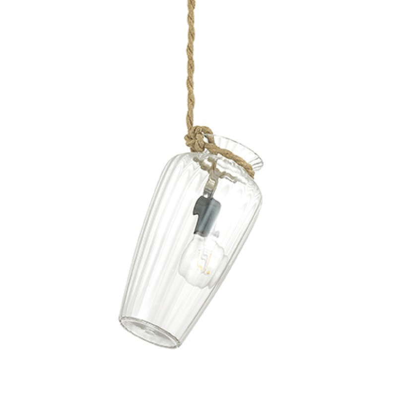 Pendant lamp POTTY-2 SP1 Transparent