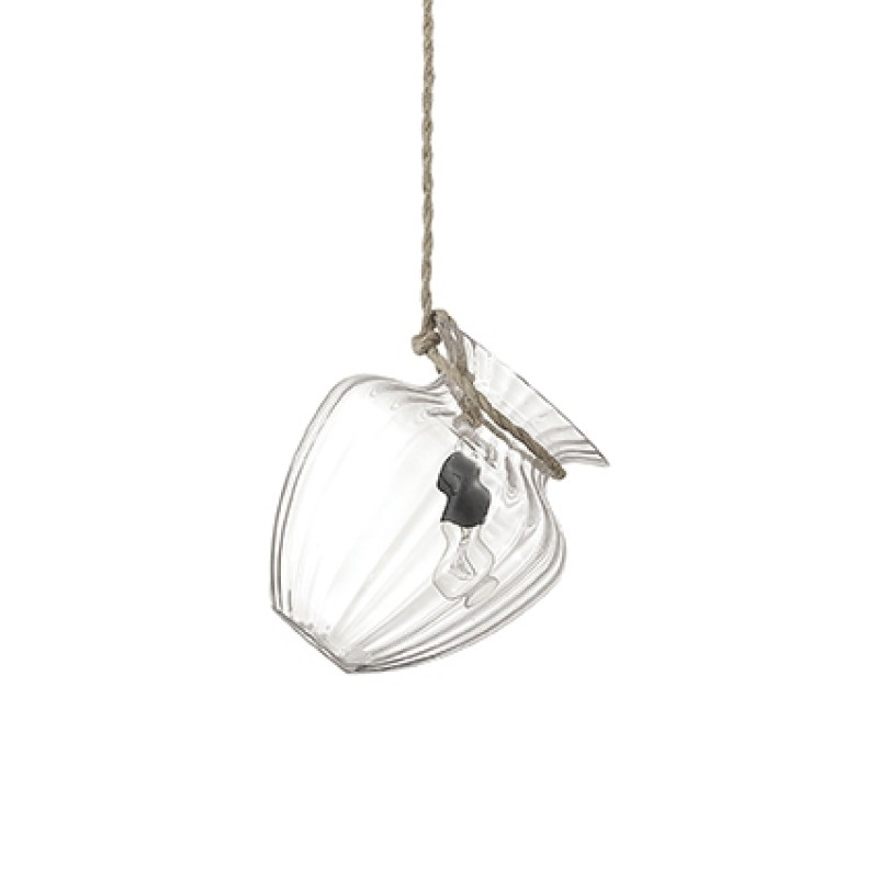 Pendant lamp POTTY-3 SP1 Transparent