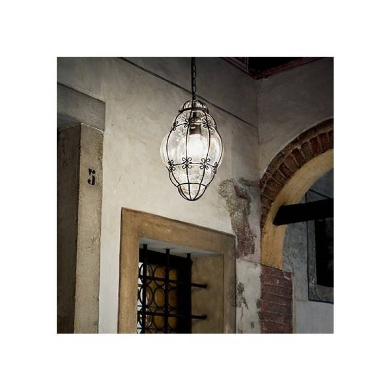 Pendant lamp ANFORA SP1 Small Black