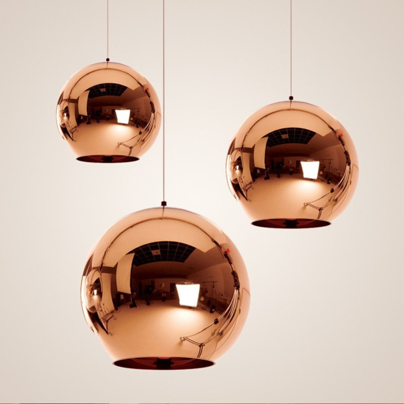 Pendant lamp NEMO SP1 D40 Smoked Glass