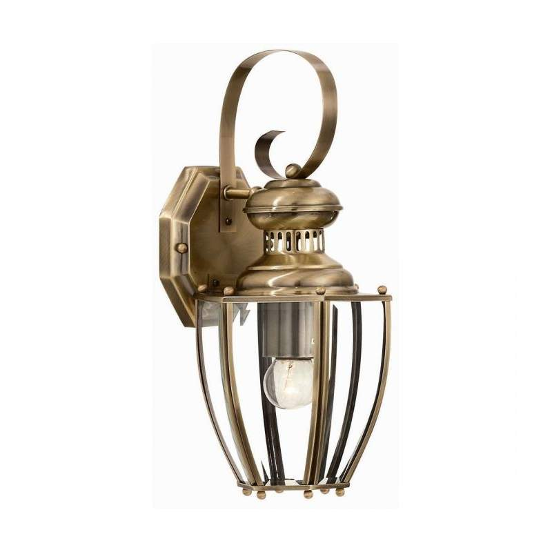 Wall lamp NORMA AP1 Antique Brass