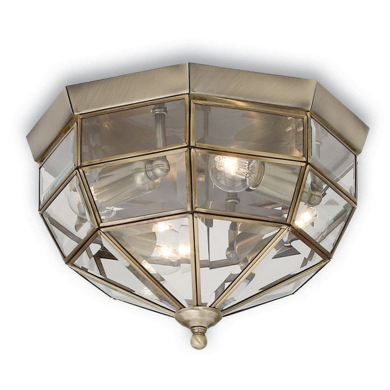 Ceiling lamp NORMA PL3 Chrome