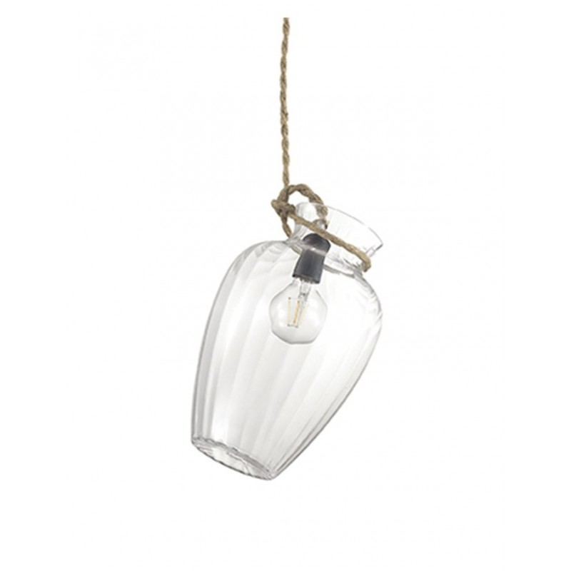 Pendant lamp POTTY-1 SP1 Transparent