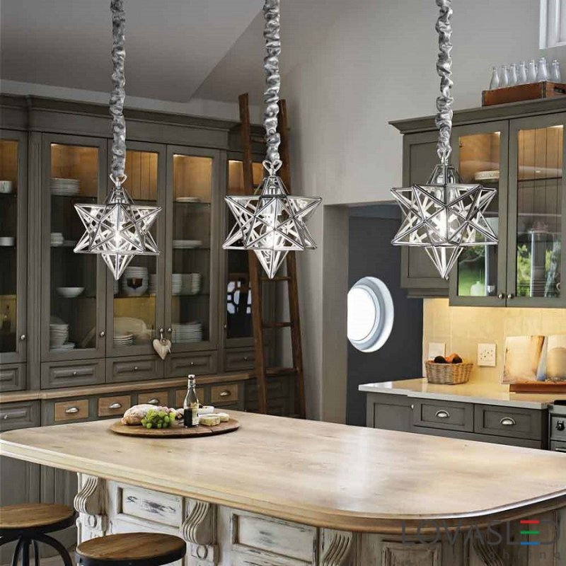 Pendant lamp STELLA SP1 Small Chrome