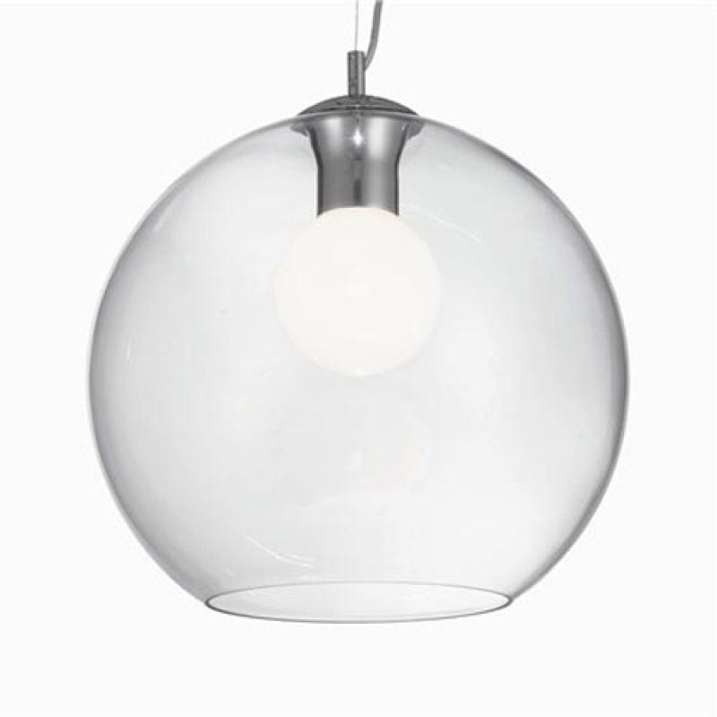 Pendant lamp NEMO SP1 D40 Transparente