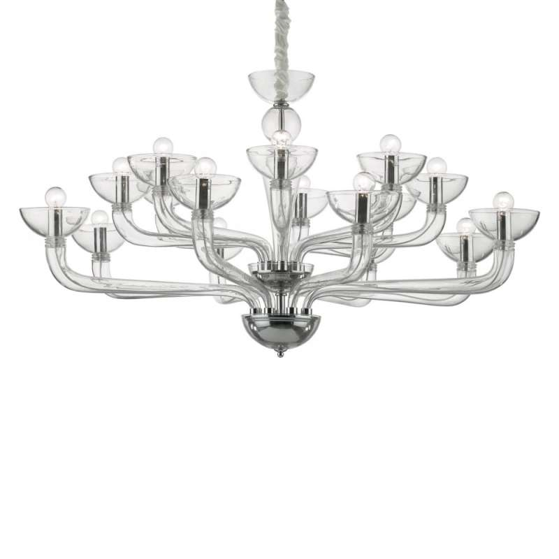 Chandelier CASANOVA SP12 Transparent