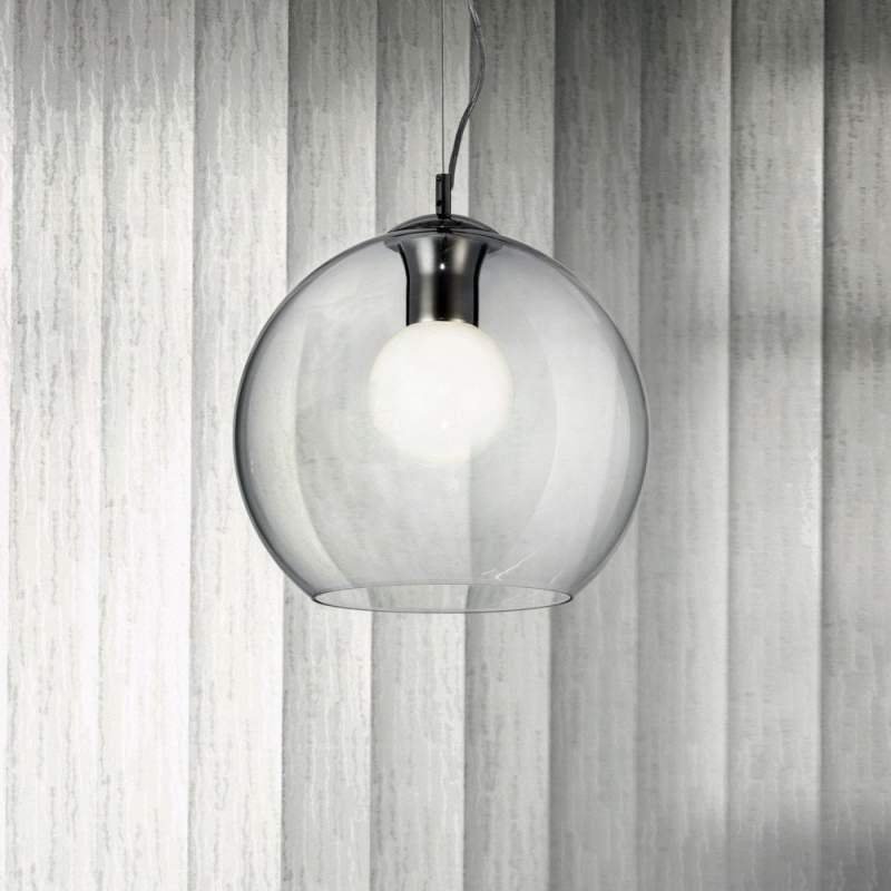 Pendant lamp NEMO SP1 D30 Transparente