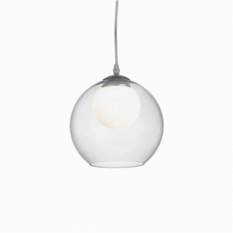 Pendant lamp NEMO CLEAR SP1 D30 Chrome