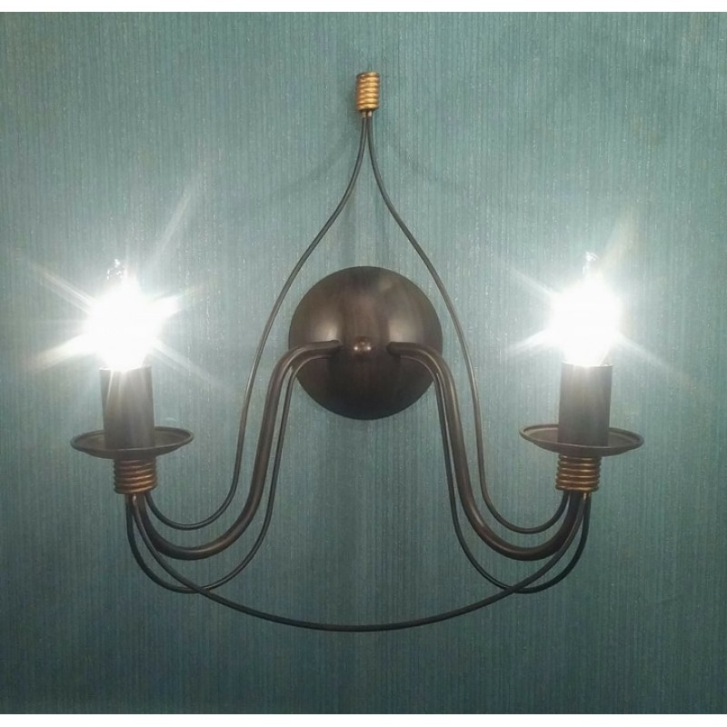 Wall lamp CORTE AP2 Antique White