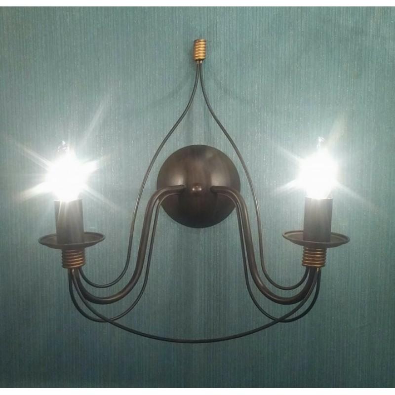 Wall lamp CORTE AP2 Ruggine