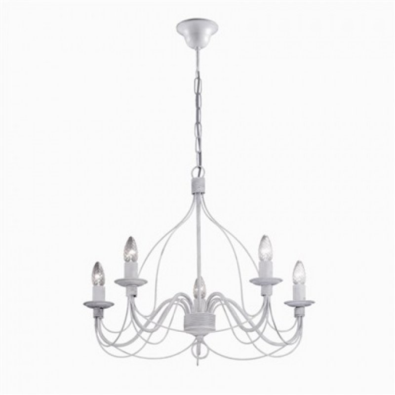 Chandelier CORTE SP5 Antique White