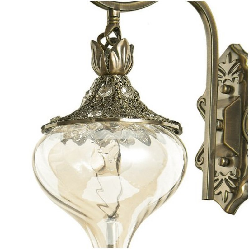 Wall lamp HAREM AP1 Antique Brass