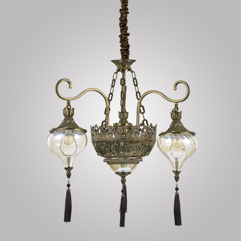 Pendant lamp HAREM SP5 Antique Brass