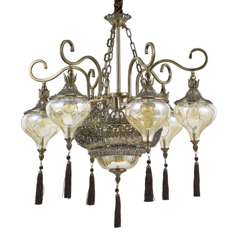 Pendant lamp HAREM SP9 Antique Brass