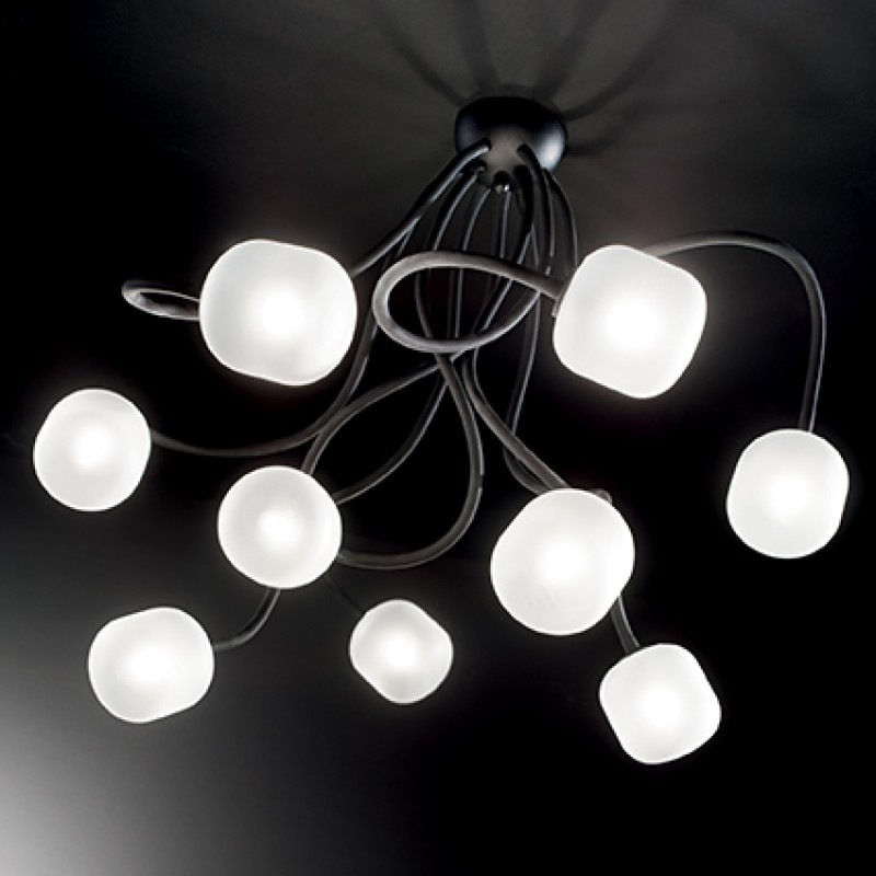 Ceiling lamp OCTOPUS PL9 White
