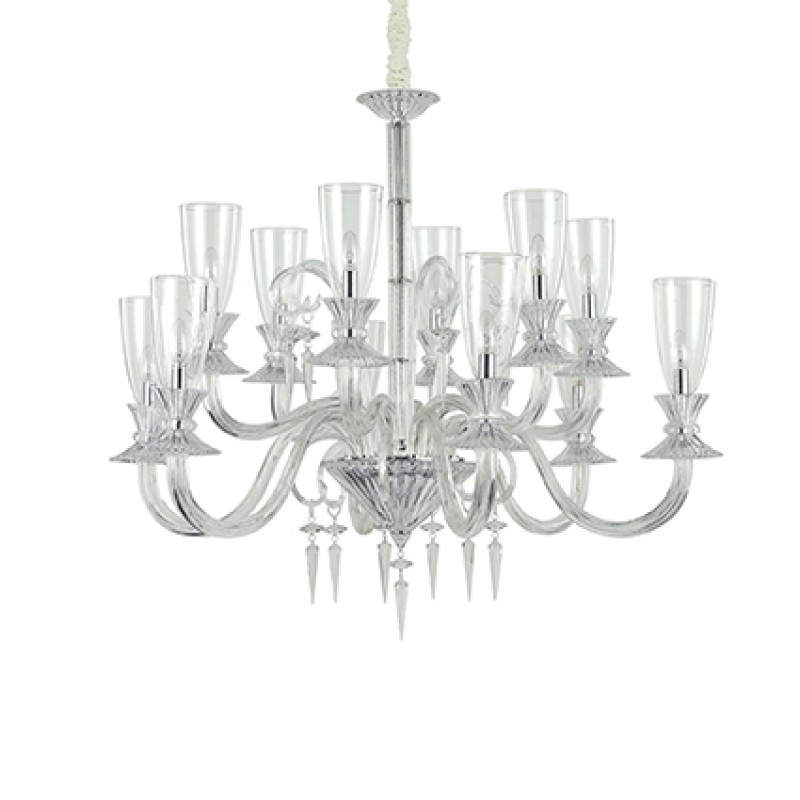 Chandelier BEETHOVEN SP12 Transparent