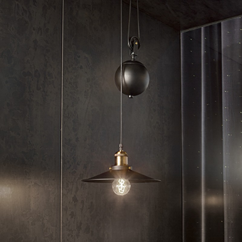 Pendant lamp UP AND DOWN SP1 Black