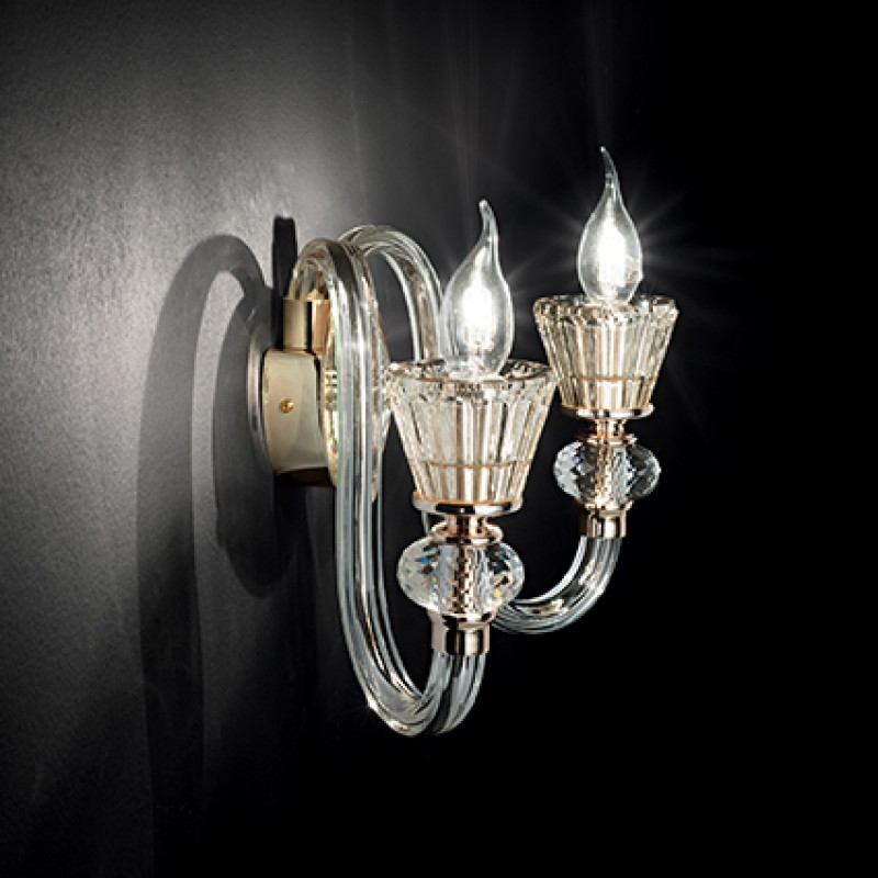 Wall lamp STRAUSS AP2 Gold