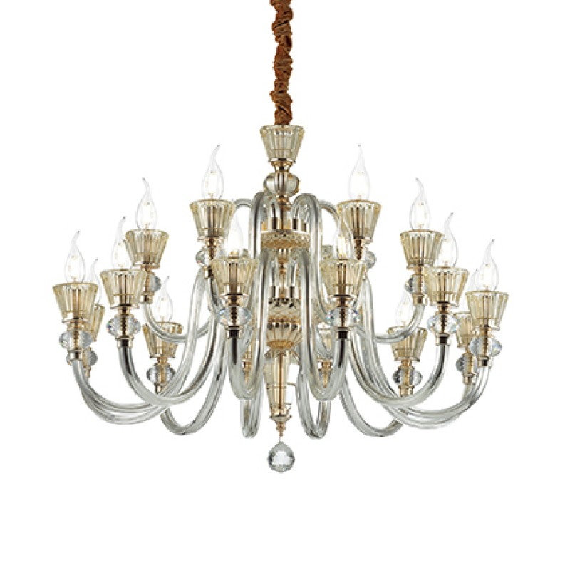 Chandelier STRAUSS SP18 Gold