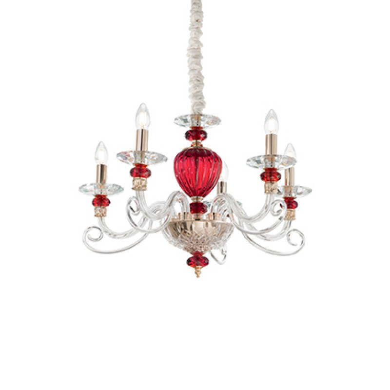 Chandelier BARONET SP5 Transparent