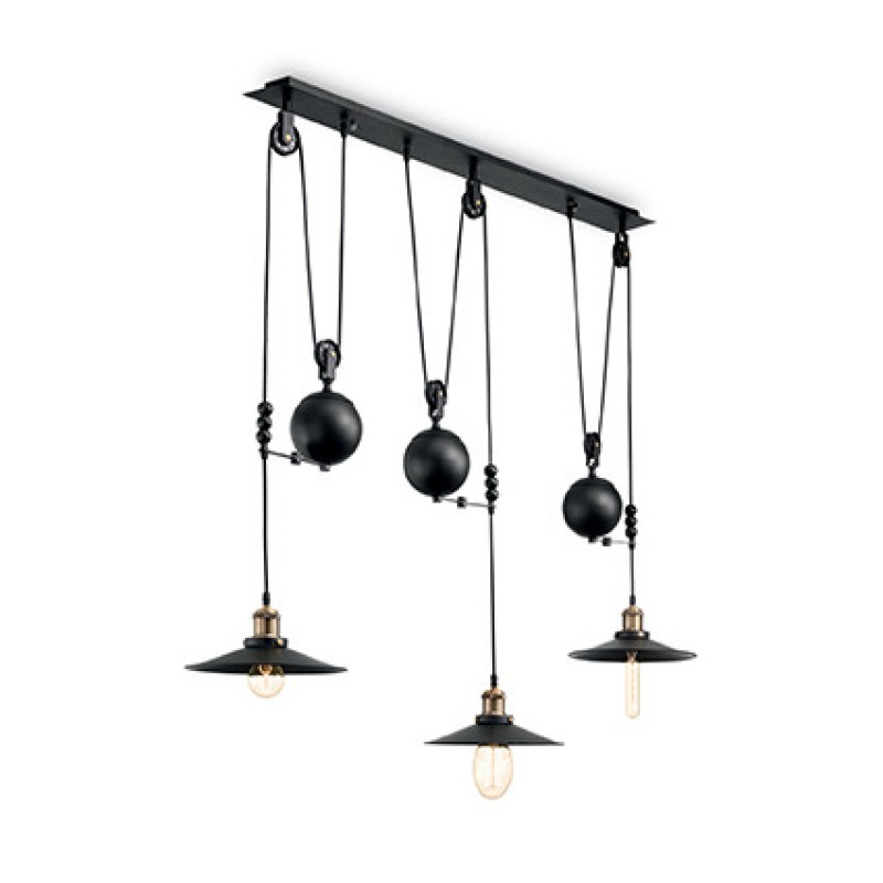 Pendant lamp UP AND DOWN SP3 Black