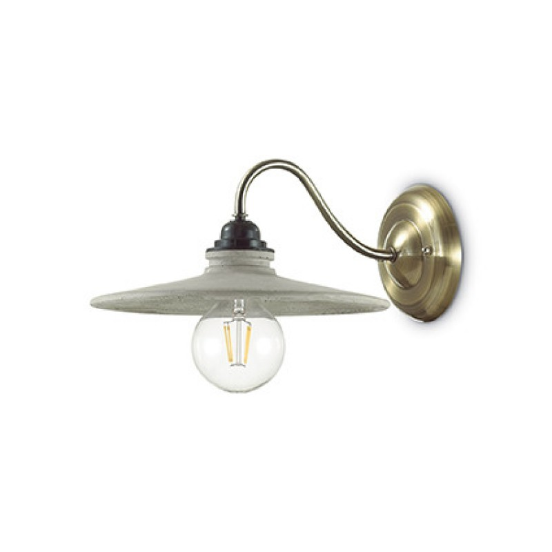 Wall lamp BROOKLYN AP1 Antique Brass