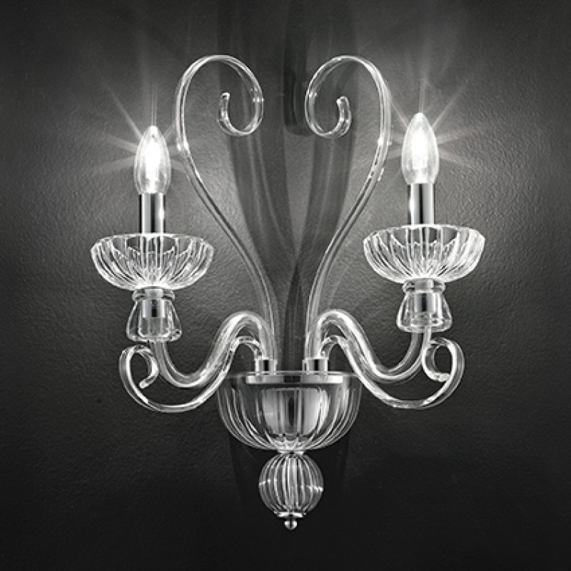 Wall lamp ALEXANDER AP2 Transparent