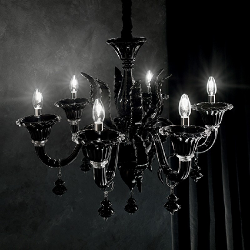 Chandelier RADETZKY SP6 Black