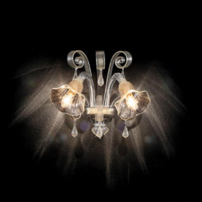 Wall lamp CA DORO AP2 Amber