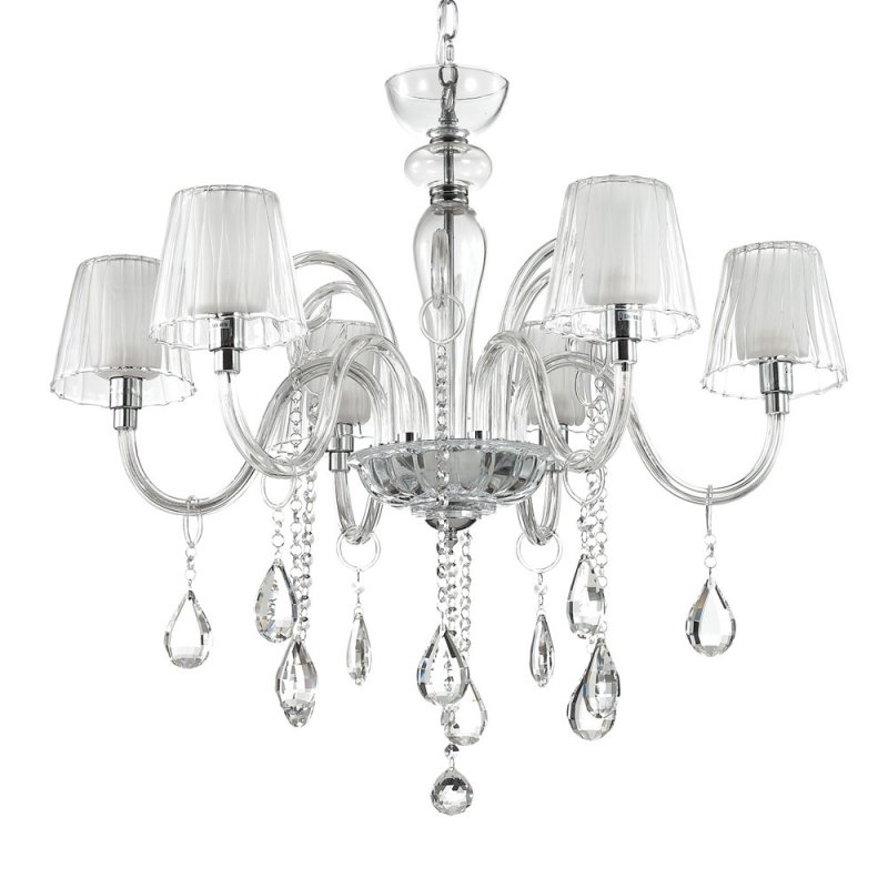 Chandelier TERRY SP6 Transparent