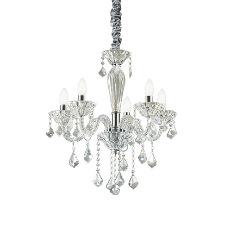 Chandelier TIEPOLO SP5 Transparent